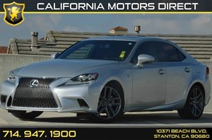 2014 Lexus IS 250  Carfax 1-Owner 6 Cylinders Air Conditioning  AC Audio  AmFm Stereo Audi