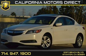 2013 Acura ILX Hybrid Tech Pkg Carfax 1-Owner 4 Cylinders Acura Navigation System -Inc Voice Re