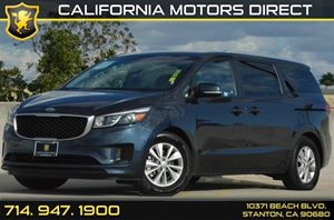 2016 Kia Sedona LX Carfax Report 6 Cylinders Air Conditioning  AC Audio  AmFm Stereo Audio