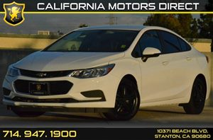 2016 Chevrolet Cruze LS Carfax 1-Owner - No AccidentsDamage Reported 4 Cylinders Air Conditioni