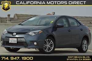 2015 Toyota Corolla LE Carfax 1-Owner - No AccidentsDamage Reported 4 Cylinders Air Conditionin