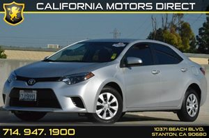 2015 Toyota Corolla L Carfax 1-Owner - No AccidentsDamage Reported 4 Cylinders Air Conditioning