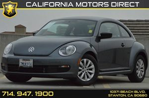 2016 Volkswagen Beetle Coupe 18T Fleet Edition Carfax 1-Owner 4 Cylinders Air Conditioning  A