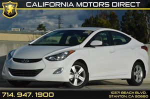 2013 Hyundai Elantra GLS Carfax 1-Owner 4 Cylinders Air Conditioning  AC Audio  AmFm Stereo