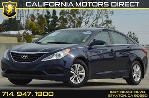 2013 Hyundai Sonata GLS Carfax 1-Owner - No AccidentsDamage Reported 4 Cylinders Air Conditioni