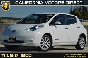 2013 Nissan LEAF S Carfax 1-Owner - No AccidentsDamage Reported Air Conditioning  AC Audio