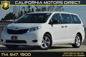 2013 Toyota Sienna L Carfax 1-Owner - No AccidentsDamage Reported 6 Cylinders Air Conditioning