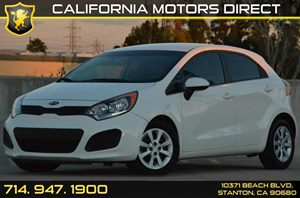 2013 Kia Rio LX Carfax 1-Owner 4 Cylinders Air Conditioning  AC Audio  AmFm Stereo Audio