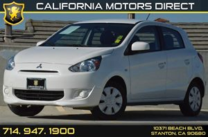 2015 Mitsubishi Mirage DE Carfax 1-Owner - No AccidentsDamage Reported 3 Cylinders Air Conditio