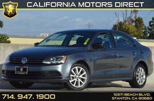 2015 Volkswagen Jetta Sedan 18T SE Carfax 1-Owner - No AccidentsDamage Reported 4 Cylinders Ai