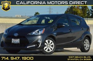 2015 Toyota Prius c Two Carfax 1-Owner 4 Cylinders Air Conditioning  AC Audio  AmFm Stereo