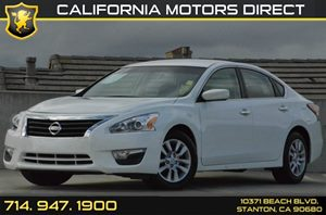2015 Nissan Altima 25 S Carfax 1-Owner - No AccidentsDamage Reported 4 Cylinders Air Condition