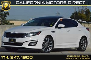 2015 Kia Optima SX Turbo Carfax 1-Owner 4 Cylinders Air Conditioning  AC Audio  AmFm Stereo