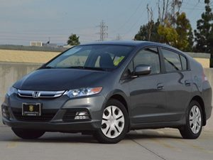 2013 Honda Insight LX Carfax 1-Owner 4 Cylinders Air Conditioning  AC Audio  AmFm Stereo A