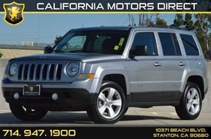 2016 Jeep Patriot Latitude Carfax 1-Owner - No AccidentsDamage Reported 4 Cylinders Air Conditi