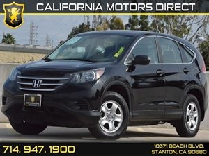 2013 Honda CR-V LX Carfax 1-Owner 4 Cylinders Air Conditioning  AC Audio  AmFm Stereo Audi