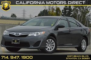 2014 Toyota Camry LE Carfax 1-Owner 4 Cylinders Air Conditioning  AC Audio  AmFm Stereo Au