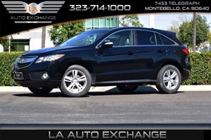 2013 Acura RDX Tech Pkg Carfax 1-Owner - No AccidentsDamage Reported  Crystal Black Pearl  We