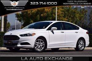 2016 Ford Fusion SE Carfax 1-Owner - No AccidentsDamage Reported 307 Axle Ratio Airbag Occupan