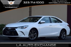 2016 Toyota Camry SE Carfax 1-Owner 363 Axle Ratio Airbag Occupancy Sensor Back-Up Camera Con