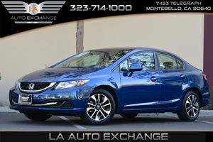 2013 Honda Civic Sdn EX Carfax 1-Owner Brake Assist Convenience  Adjustable Steering Wheel Con