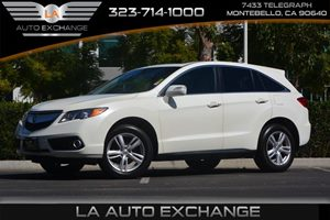 2014 Acura RDX Tech Pkg Carfax 1-Owner  White Diamond Pearl 33228 Per Month -ON APPROVED CRE