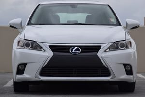 2014 Lexus CT 200h Hybrid Carfax 1-Owner - No AccidentsDamage Reported  Ultra White wBlack Ro