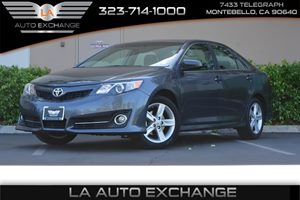 2014 Toyota Camry SE Carfax 1-Owner  Cosmic Gray Mica ---  18347 Per Month -ON APPROVED C