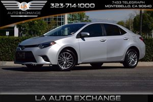 2014 Toyota Corolla LE Carfax 1-Owner  Classic Silver Metallic -13999 18996 Per Month -ON