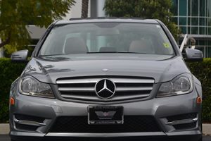 2013 MERCEDES C250 Sport Sedan Carfax 1-Owner - No AccidentsDamage Reported  Diamond Silver Me