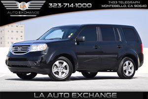 2015 Honda Pilot LX Carfax Report 130 Amp Alternator Airbag Occupancy Sensor Back-Up Camera Co