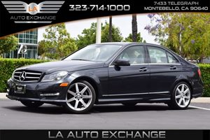 2014 MERCEDES C250 Luxury Sedan Carfax Report - No AccidentsDamage Reported  Black  We are no