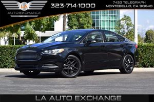 2014 Ford Fusion SE Carfax 1-Owner  Tuxedo Black Metallic  We are not responsible for typograp