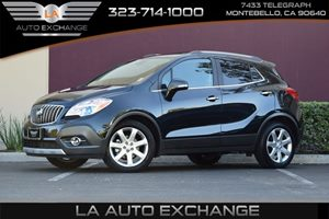 2015 Buick Encore Leather Carfax 1-Owner - No AccidentsDamage Reported  Satin Steel Gray Metal
