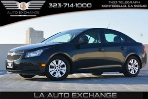 2014 Chevrolet Cruze LS Carfax 1-Owner - No AccidentsDamage Reported  Black Granite Metallic