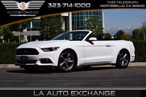 2015 Ford Mustang V6 Carfax 1-Owner  Oxford White  We are not responsible for typographical er