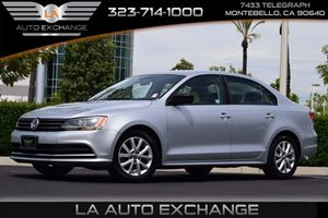 2015 Volkswagen Jetta Sedan SE TSI Carfax 1-Owner 140 Amp Alternator Airbag Occupancy Sensor Co