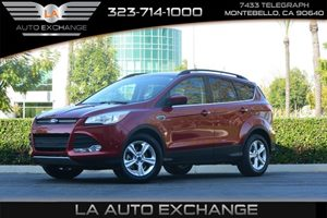 2015 Ford Escape SE Carfax 1-Owner - No AccidentsDamage Reported  Ruby Red Metallic Tinted Cle