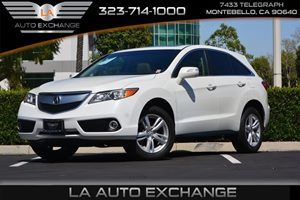 2014 Acura RDX Tech Pkg Carfax 1-Owner  White Diamond Pearl 31964 Per Month -ON APPROVED CRE