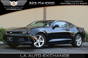 2016 Chevrolet Camaro LT Carfax 1-Owner Convenience  Adjustable Steering Wheel Convenience  Ba