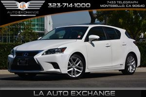 2015 Lexus CT 200h Hybrid Carfax 1-Owner - No AccidentsDamage Reported  Eminent White 26791