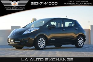 2013 Nissan LEAF S Carfax 1-Owner - No AccidentsDamage Reported  Super Black   10699 Per Mo