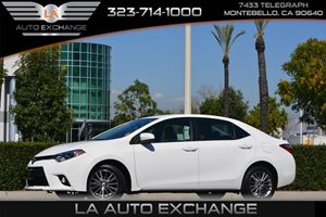 2014 Toyota Corolla LE Carfax 1-Owner - No AccidentsDamage Reported  Super White 17047 Per