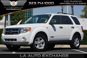 2008 Ford Escape Hybrid Carfax Report  Oxford White 12103 Per Month -ON APPROVED CREDIT--