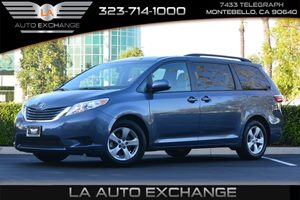 2016 Toyota Sienna LE AAS Carfax 1-Owner - No AccidentsDamage Reported  Shoreline Blue Pearl