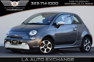 2013 FIAT 500e BATTERY ELECTRIC  Carfax 1-Owner - No AccidentsDamage Reported Audio  Premium So