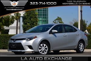 2015 Toyota Corolla L Carfax 1-Owner  Classic Silver Metallic -17697 Per Month -ON APPROVED