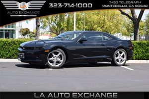 2014 Chevrolet Camaro LT Carfax 1-Owner - No AccidentsDamage Reported  Black  We are not resp