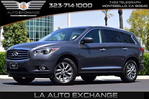 2013 INFINITI JX35  Carfax Report Convenience  Adjustable Steering Wheel Convenience  Back-Up