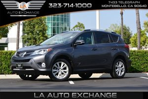 2015 Toyota RAV4 Limited Carfax 1-Owner  Magnetic Gray Metallic 2809 Per Month -ON APPROVED